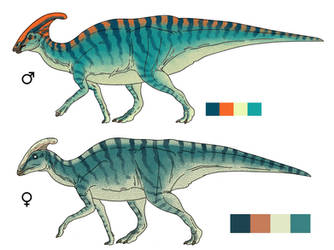 Parasaurolophus Alt2
