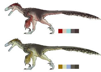 Deinonychus Colors Alt2