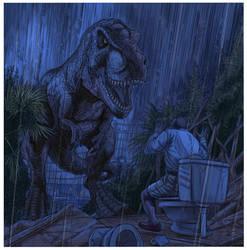 T Rex Encounter