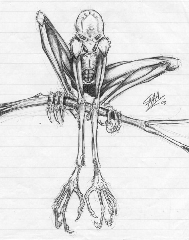 Cool Alien Drawings | www.pixshark.com - Images Galleries ...