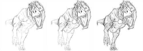 Tyrannosaurus WIP