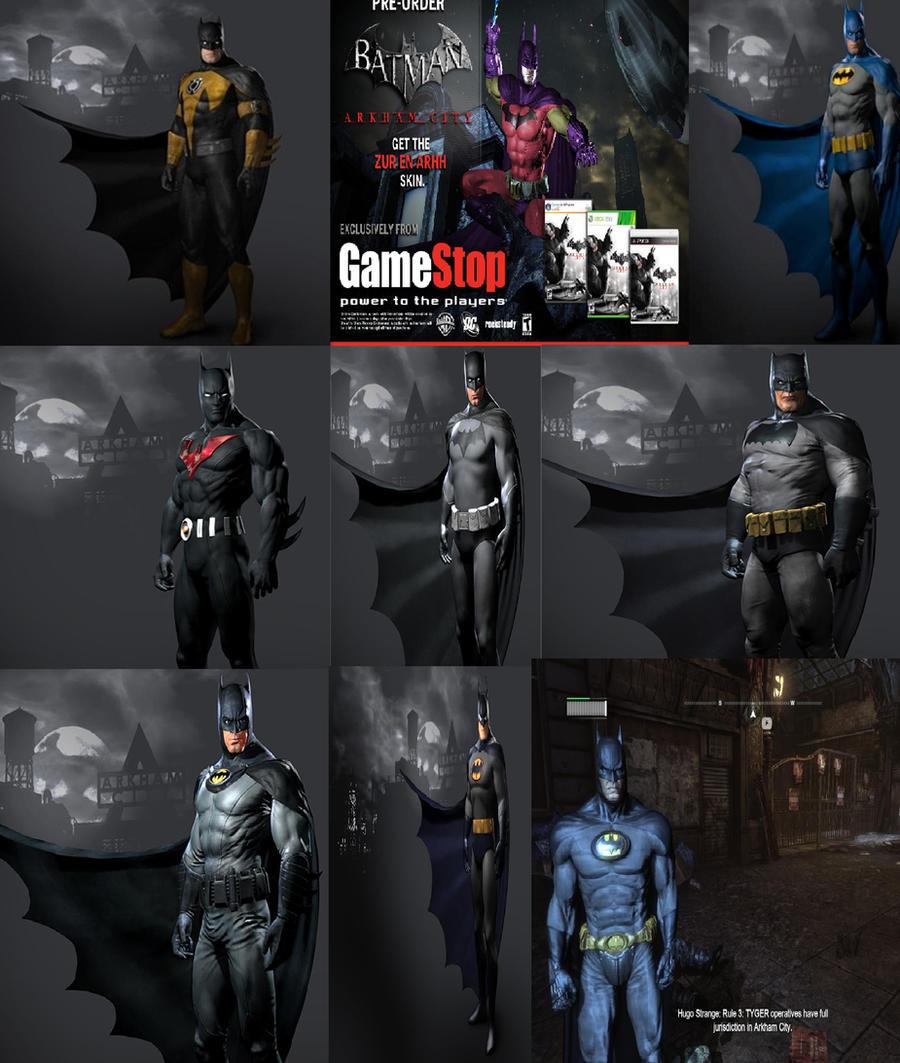 & Batman Arkham City Batman Skins