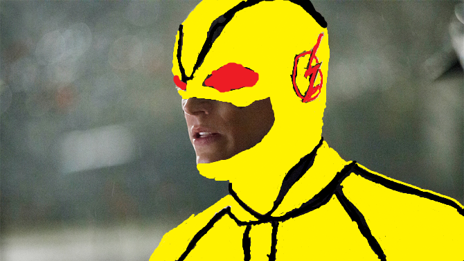 Barry as the Reverse Flash by AvatarLogan