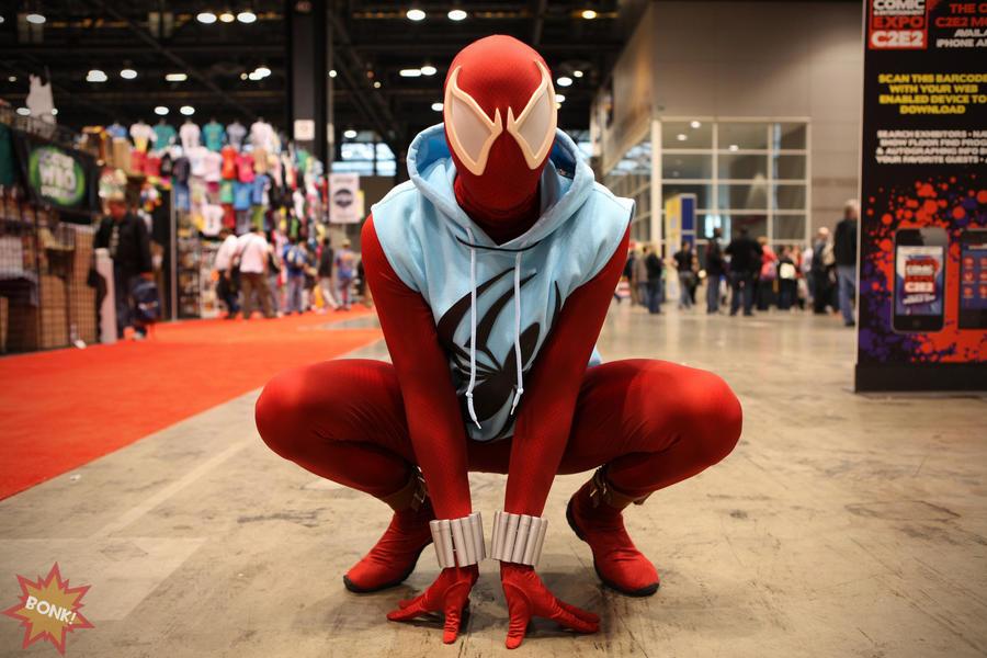 Scarlet spider costume - photo#5