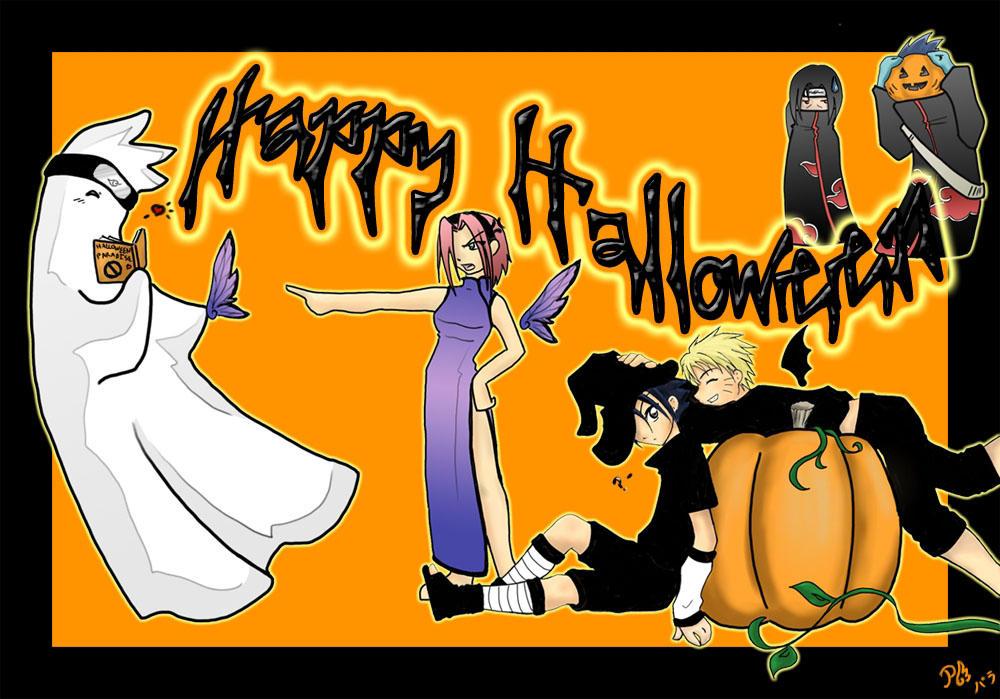 Naruto Halloween Naruto Halloween by Surfinpika