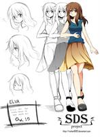 Elva- Character by ViChaN91312