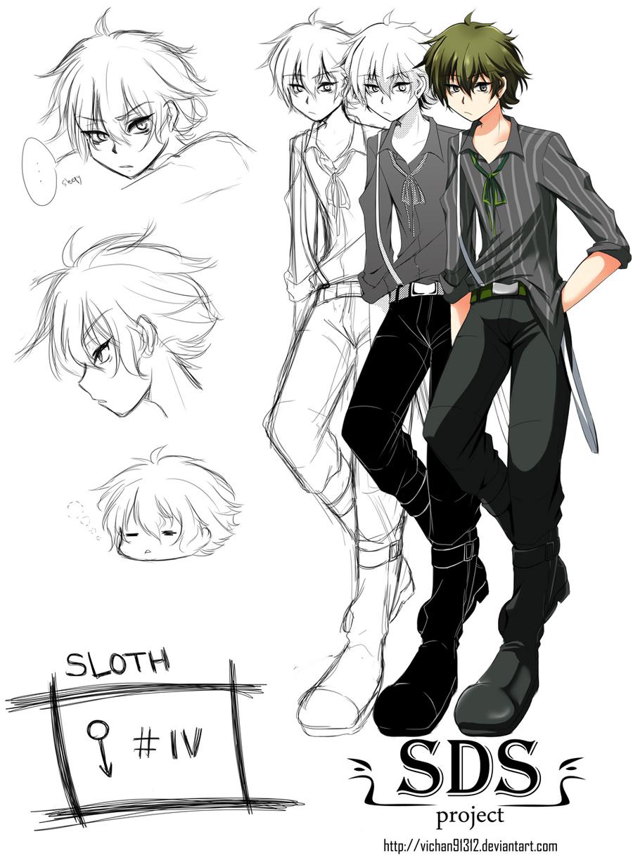 Sloth -Character by ViChaN91312
