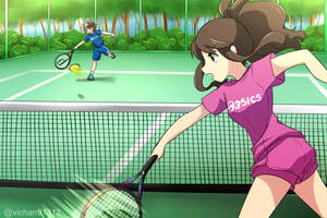 Commission: Tennis by ViChaN91312