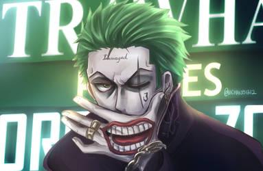 Commission: Zoro-Joker by ViChaN91312