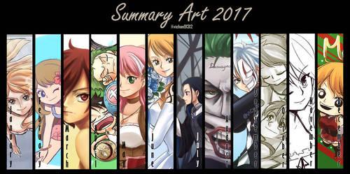 Summary Art 2017 by ViChaN91312