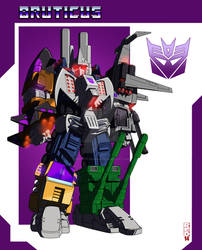 Bruticus (Cybertronian Design) by Red-Eye-Designs