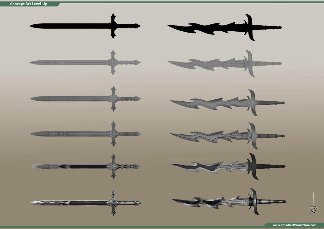 Thumbnail Sketch Weapon by sondao3009