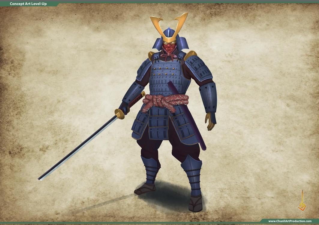 Samurai Concept by sondao3009