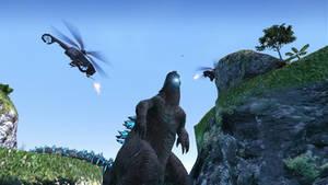 On the Isle of Godzilla
