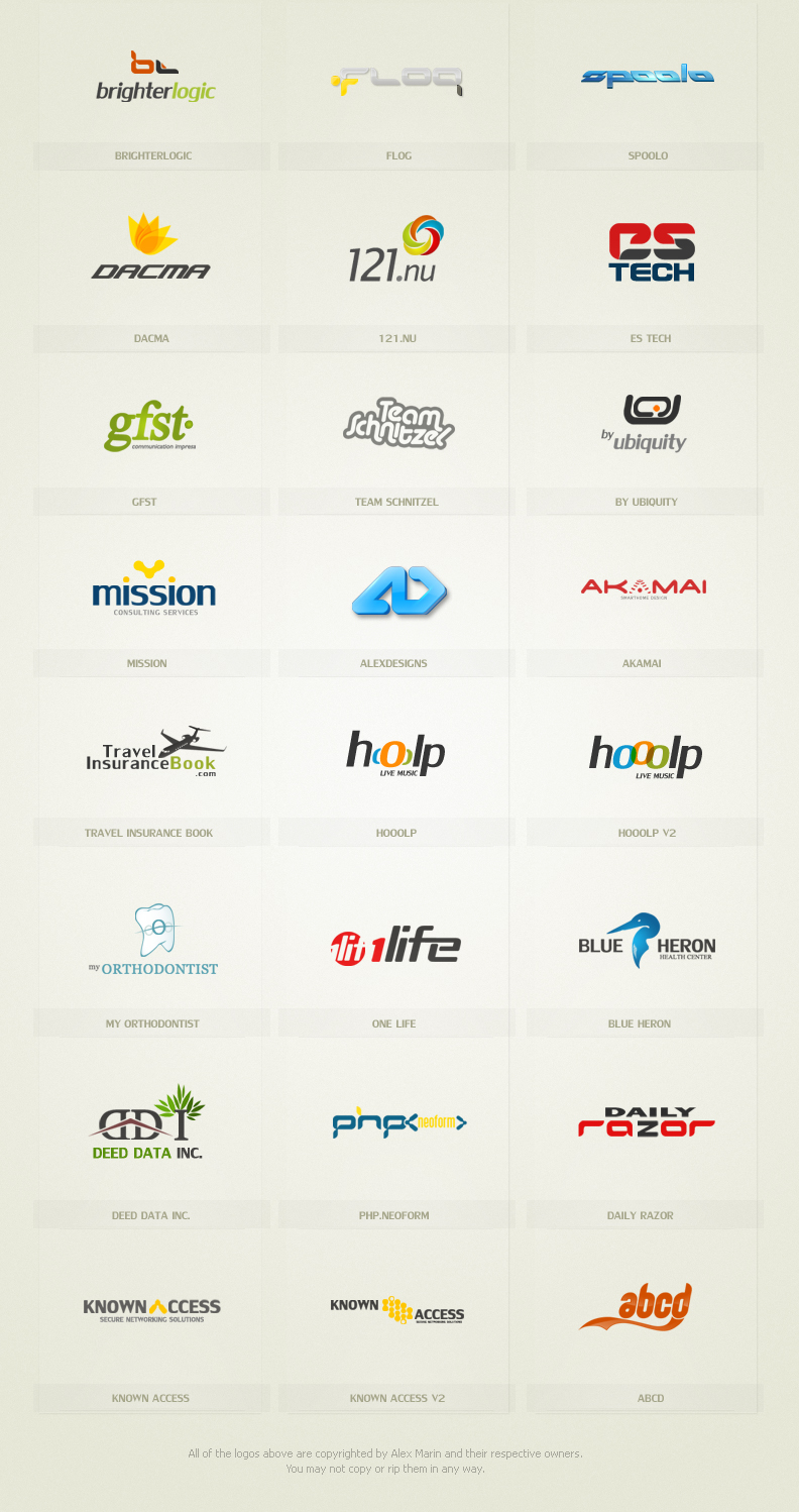 LogoPack by alexdesigns