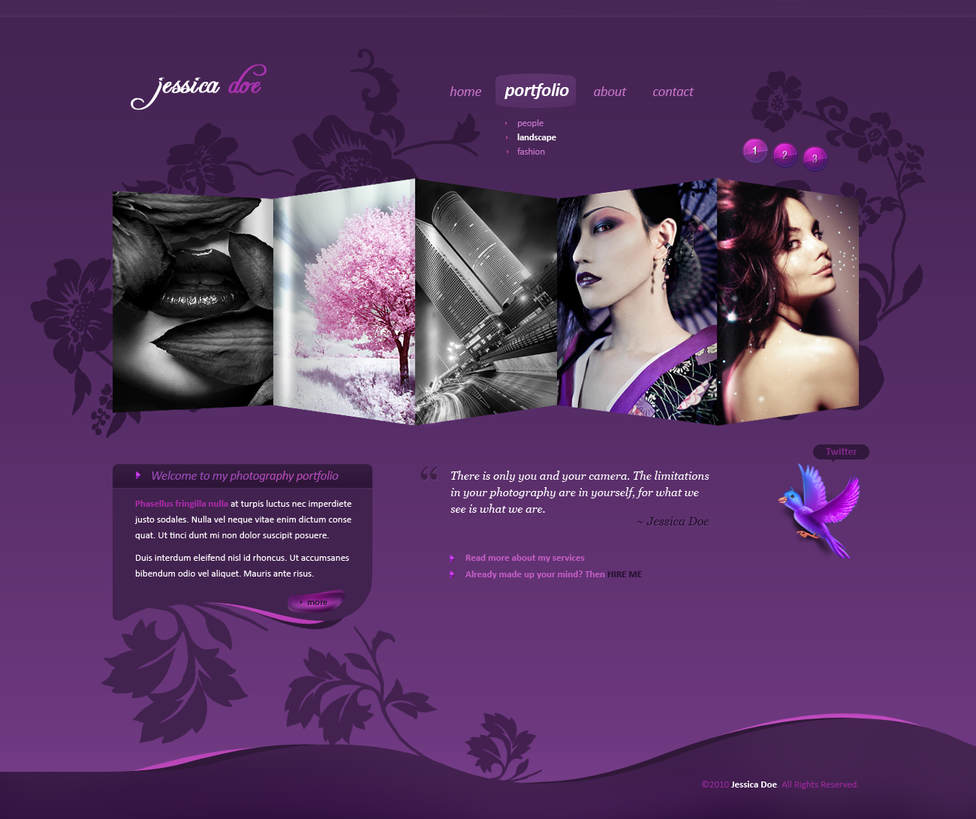 Photography Portfolio by alexdesigns