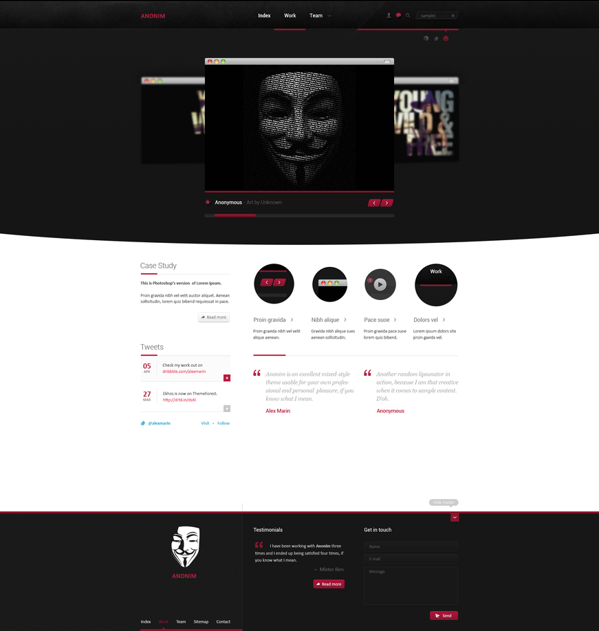 ANONIM by alexdesigns