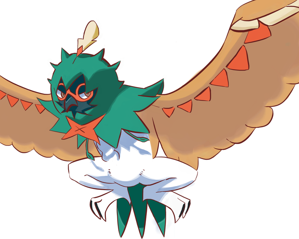 decidueye and chestnaught trying - photo #11