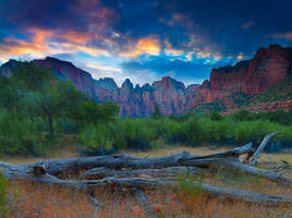Zion National Park by coulombic