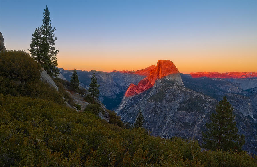 Half Dome by coulombic