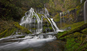 Panther Creek Falls by coulombic