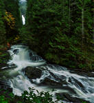 Wallace Falls by coulombic