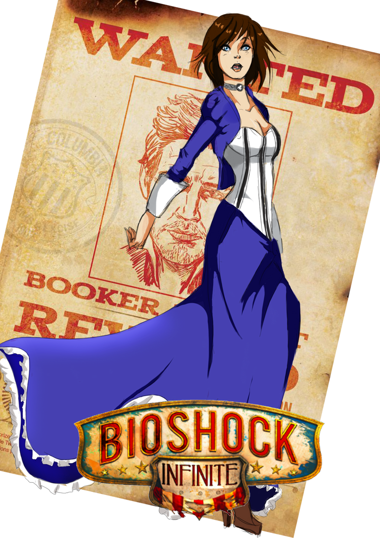 Elizabeth - Bioshock Infinite by Holicdraw34