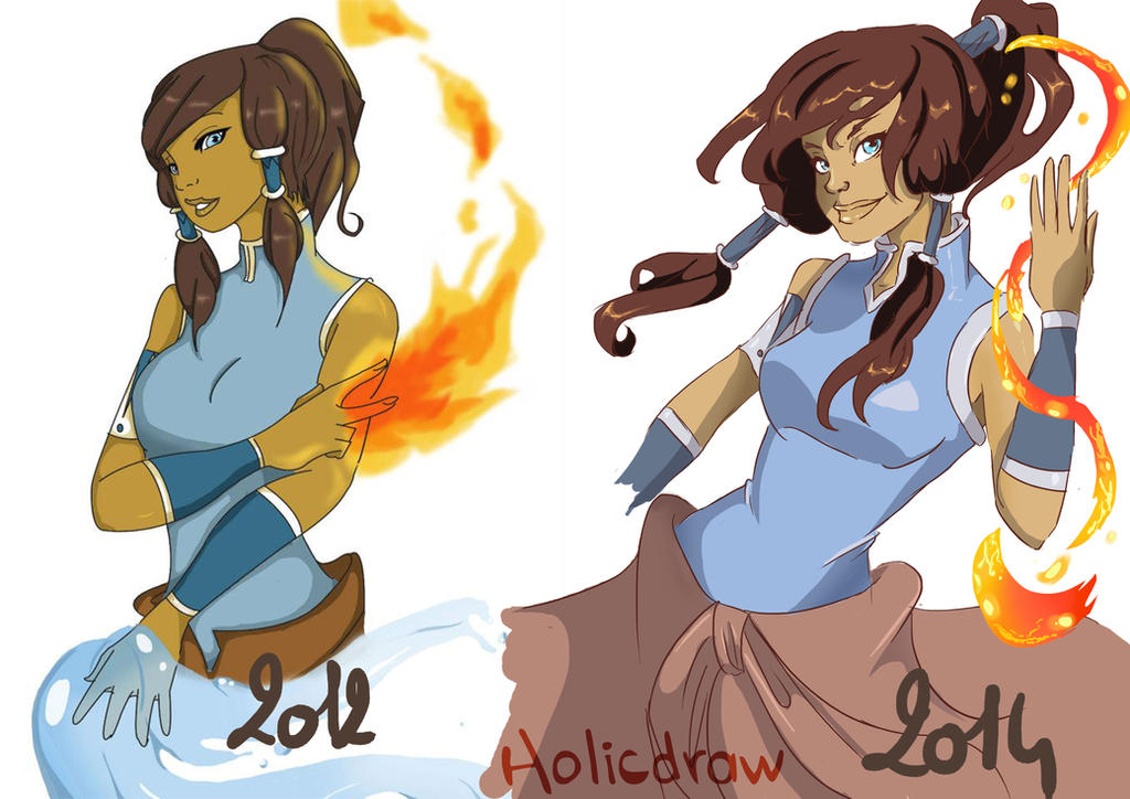 draw this again Korra by Holicdraw34