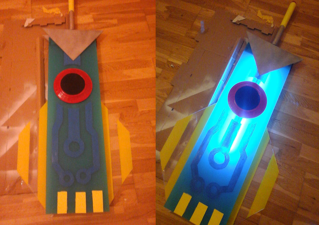 my transistor sword -cosplay by Holicdraw34