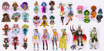 !!! SUPER SALE!!! (Adoptables|Setprice|OPEN) by YamokoYagami