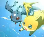 Commission - Moriku and Nynir