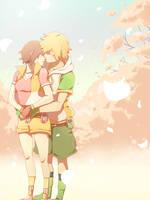 Commission - Takeru and Hikari II by moremindmel0dy