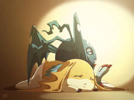 Commission - Moriku and Nynir III by moremindmel0dy