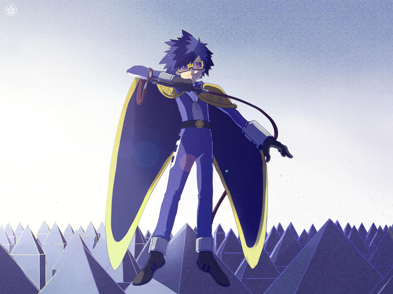Commission - The Digimon Emperor ! by moremindmel0dy