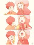 Digimon - calm down, Mimi-san