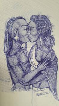 Njeri's parents