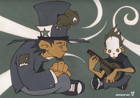 Little Skullplayer by emonic1