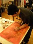 Live Art at Sac Show.