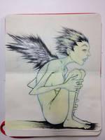 Sketchbook: Ink builds wings. by emonic1