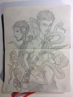 Sketchbook:Hive Mind by emonic1