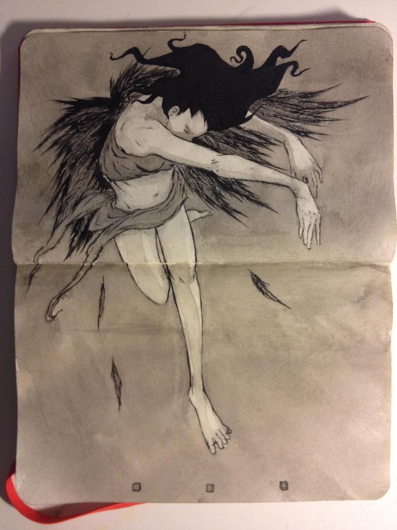 Sketchbook: Icarus by emonic1