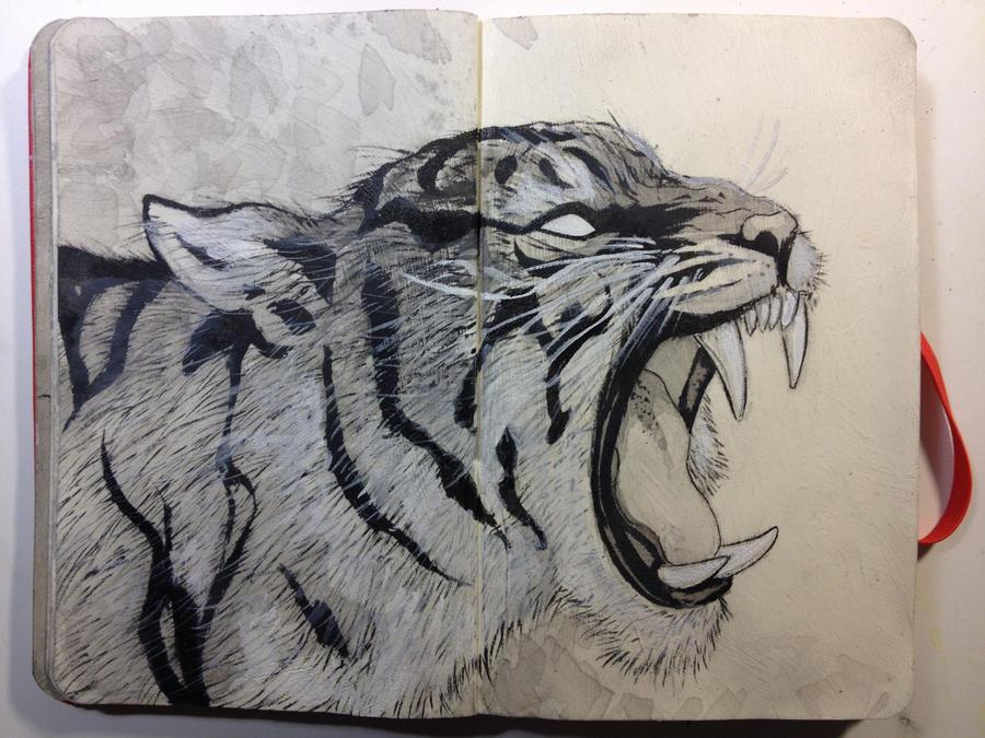 Sketchbook:Growl by emonic1