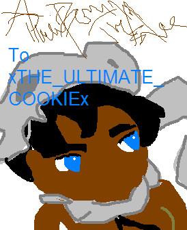 Dinosaur Cookie by HornaiiGurl