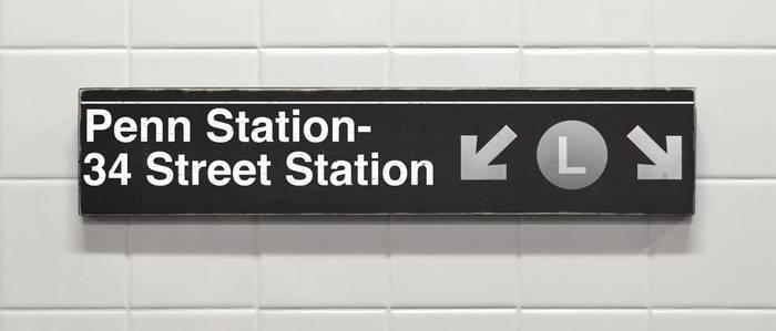 Penn Station's L