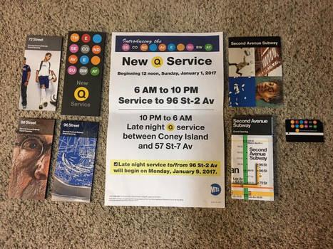 Second Avenue Subway Memorabilia