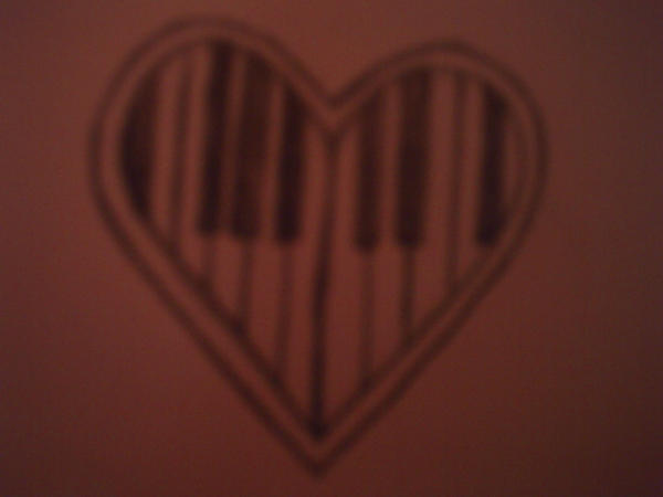 Piano heart tattoo1 by ~daniellekoorevaar on deviantART