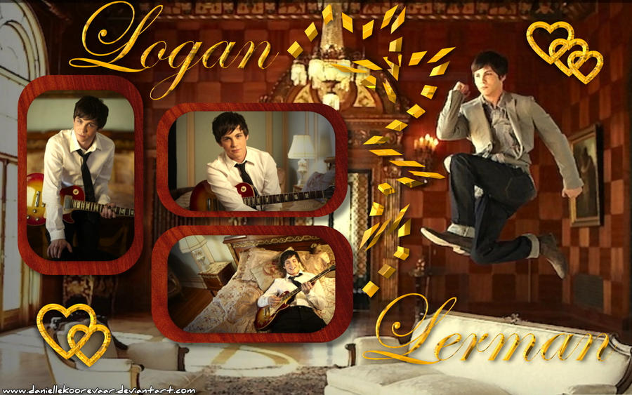 Logan Lerman wallp1 by daniellekoorevaar