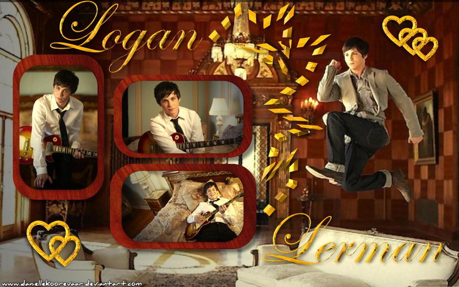 Logan Lerman wallp1 by daniellekoorevaar