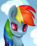 Rainbow Dash Portrait!