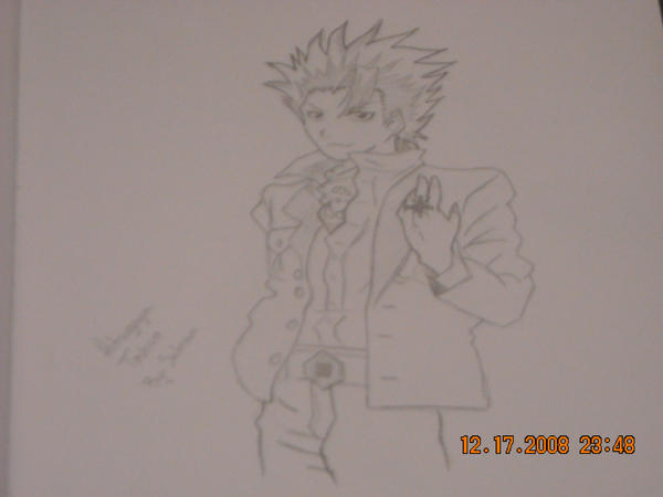 Toshiro Hitsugaya drawing by StaticFOOL100